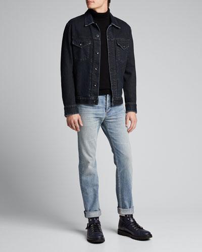 Men's Fit 2 Light-Wash Jeans