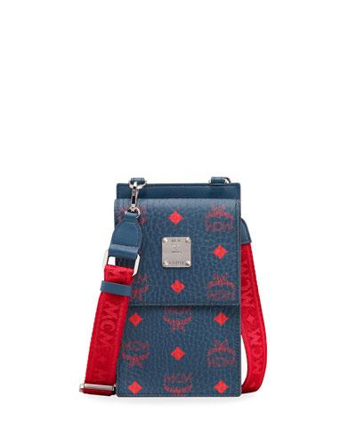 Men's Small Original Visetos Crossbody Bag