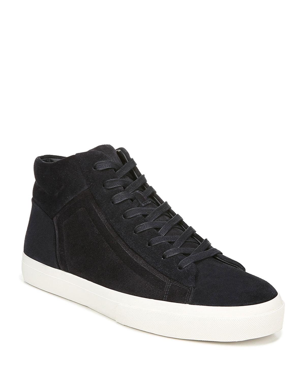 Vince Sneakers MEN'S FYNN SUEDE MID-TOP SNEAKERS