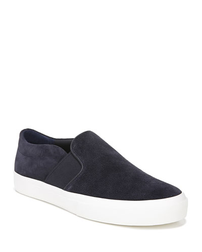 Men's Fenton Coastal Suede Slip-On Sneakers