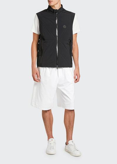 Men's Chabod Zip-Front Vest