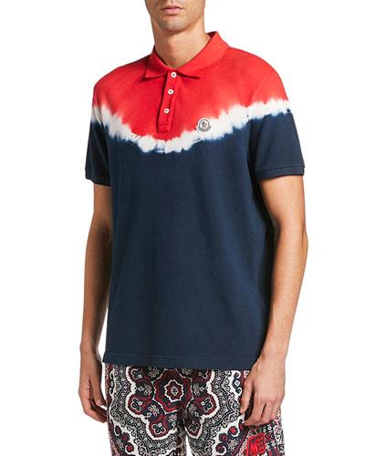 Men's Maglia Tie-Dye Polo Shirt