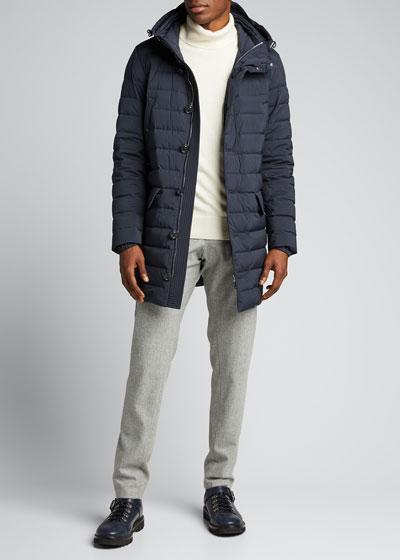 Men's Arnaud Hooded Puffer Coat