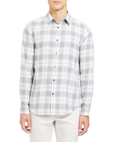 Men's Irving Flannel Cotton Sport Shirt