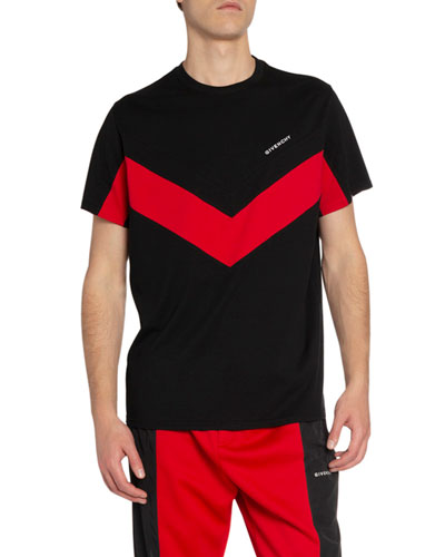 Men's Banded Sporty T-Shirt