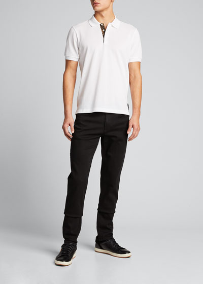 Men's FF-Placket Polo Shirt