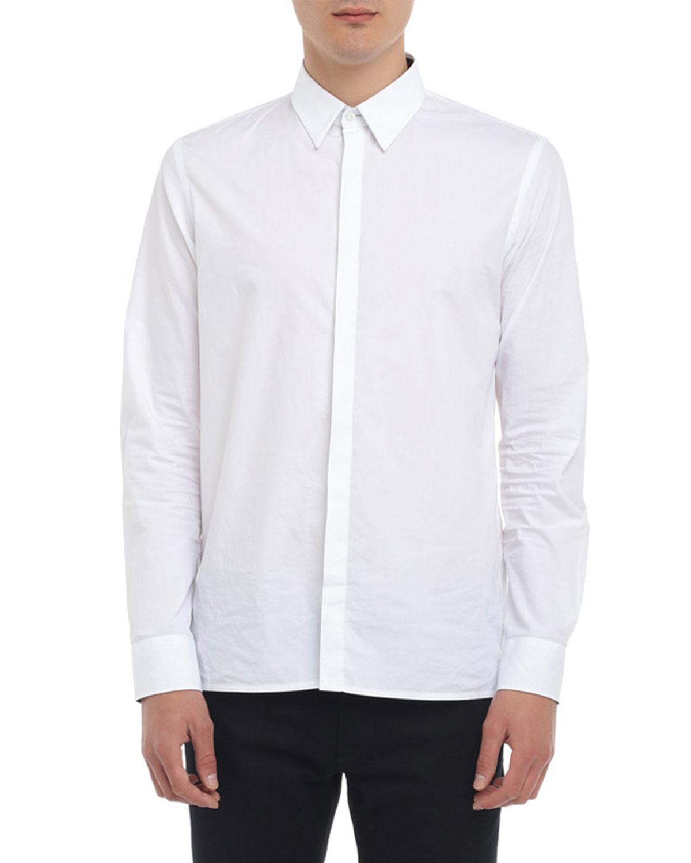 Fendi T-shirts MEN'S FF-DETAIL SPORT SHIRT