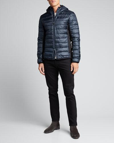 Men's Light-Padded Hooded Jacket