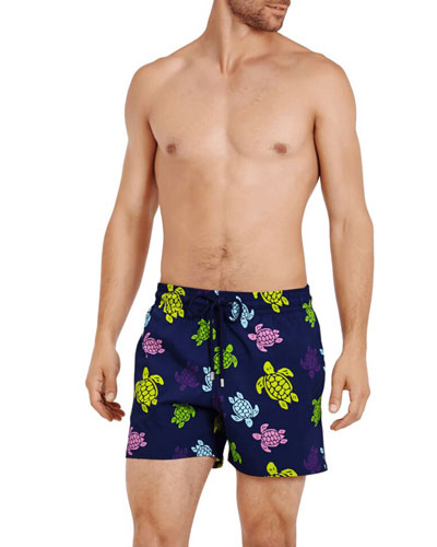 Men's Superflex Multi-Turtles Swim Trunks