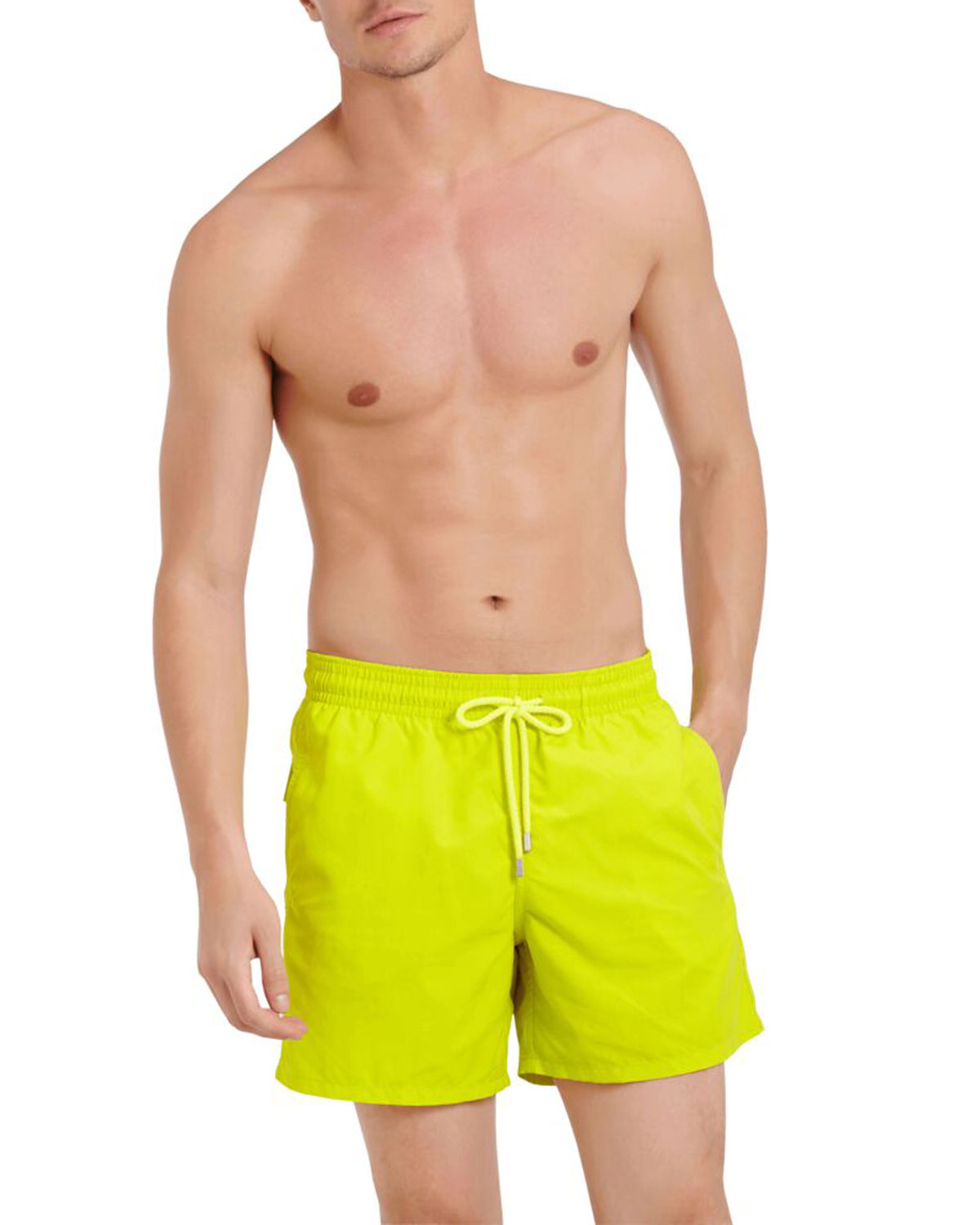 Vilebrequin Pants MEN'S MOOREA SOLID SWIM TRUNKS
