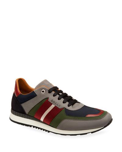 Men's Trainspotting Leather Running Sneakers