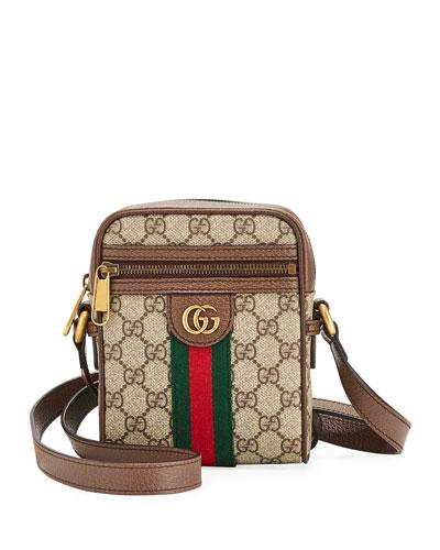 Men's GG Supreme Crossbody Bag