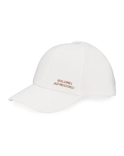 Men's Embroidered Baseball Cap