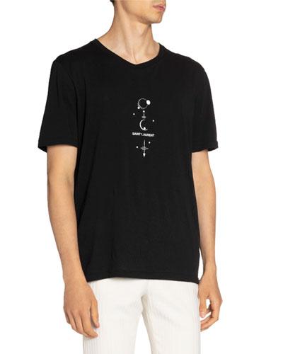 Men's Quarter Moons Logo T-Shirt