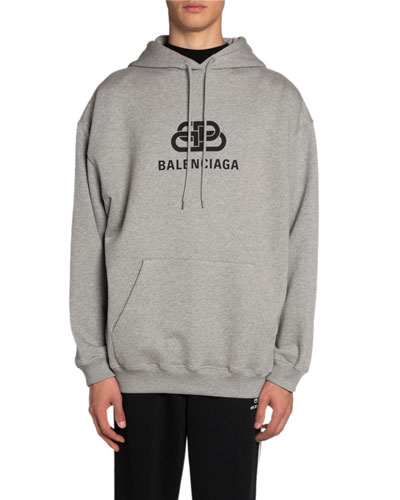 Men's BB Logo Hoodie Sweatshirt