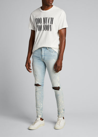 Men's Thrasher Distressed Skinny Jeans