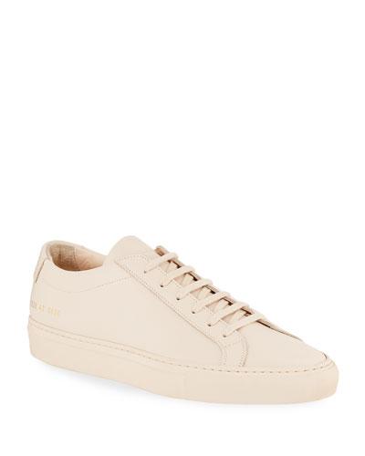 Men's Achilles Leather Low-Top Sneakers