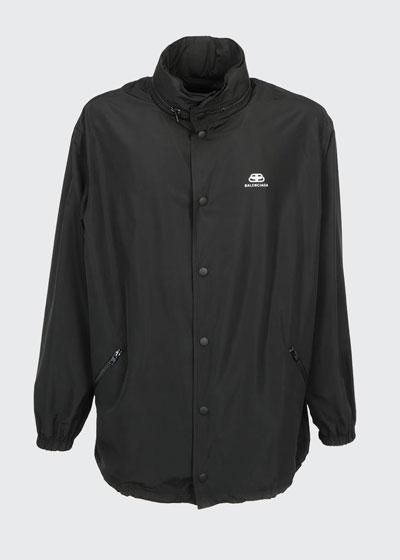 Men's Oversized Logo Jacket