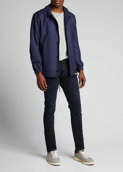 Men's Wool Coaches Jacket