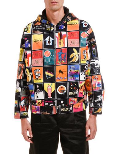 Men's Mega-Mix Graphic Jacket