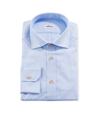 Men's Solid Oxford Dress Shirt