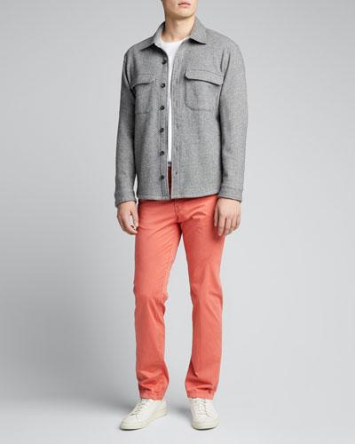 Men's Five-Pocket Twill Pants