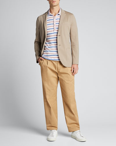 Men's CoolMax Seersucker Two-Button Jacket