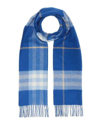 Men's Giant Icon Cashmere Scarf