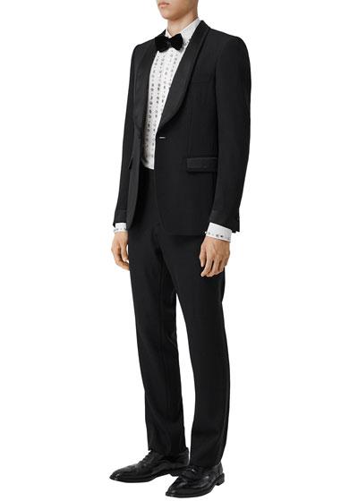 Men's Shawl-Collar Tuxedo Jacket