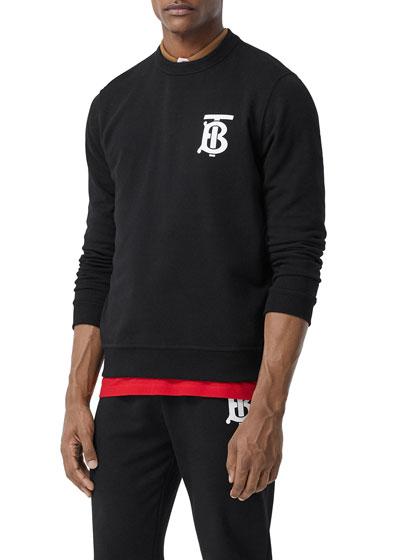 Men's TB Logo Pullover Sweatshirt