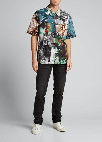 Men's Hyde Graphic 1/4-Zip Pullover Shirt