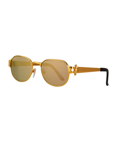 Men's 1999 Masterpiece Gold-Plated Sunglasses