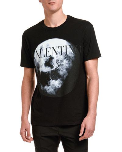Men's Moon Graphic Logo T-Shirt