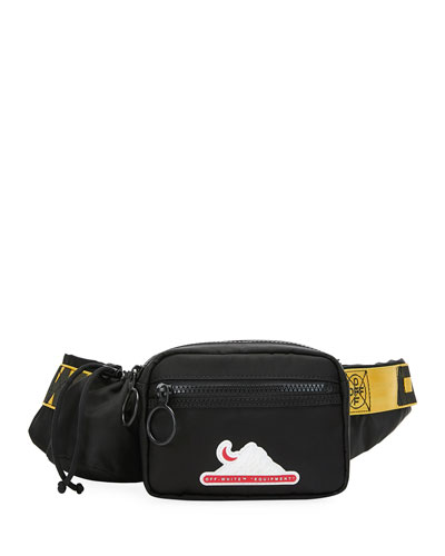 Men's Equipment Multi-Pocket Belt Bag