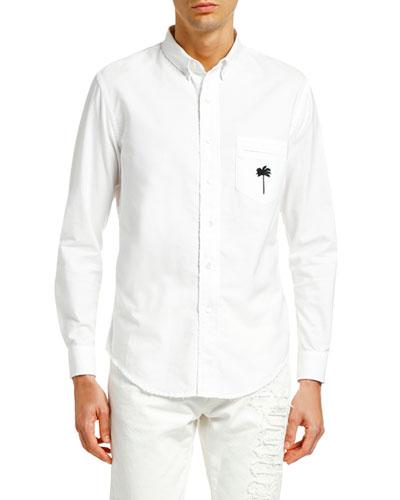 Men's PXP Ripped Oxford Shirt