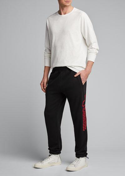 Men's Magen Long-Sleeve Crewneck T-Shirt
