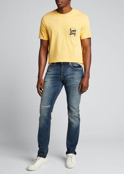 Men's Short-Sleeve Logo-Pocket T-Shirt