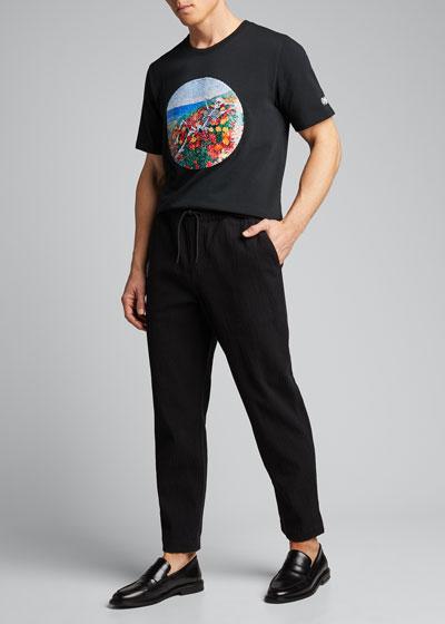 Men's Sequin Graphic T-Shirt