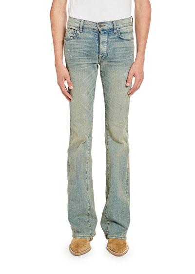 Men's Stack Slim Flare Jeans