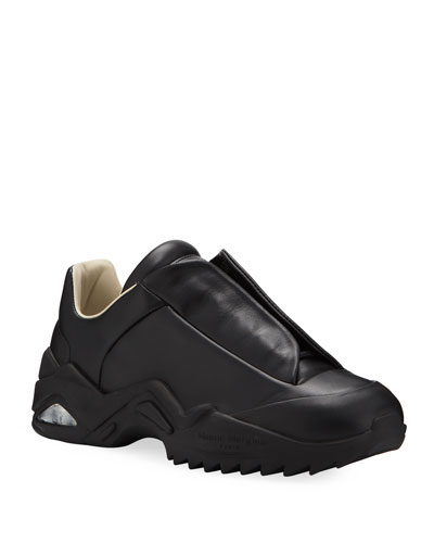 Men's New Future Laceless Leather Sneakers