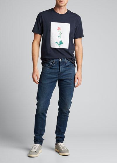 Men's Flower Graphic T-Shirt