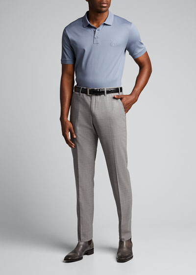 Men's Micro-Pique Polo Shirt