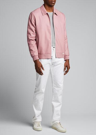 Men's McGregor Wool Zip-Front Jacket