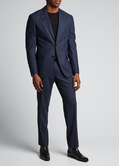 Men's High-Performance Wool Suit