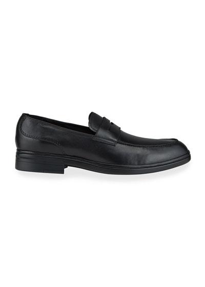 Men's Neffer Leather Penny Loafers
