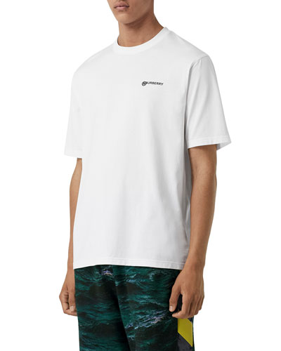 Men's Justin Logo-Print T-Shirt