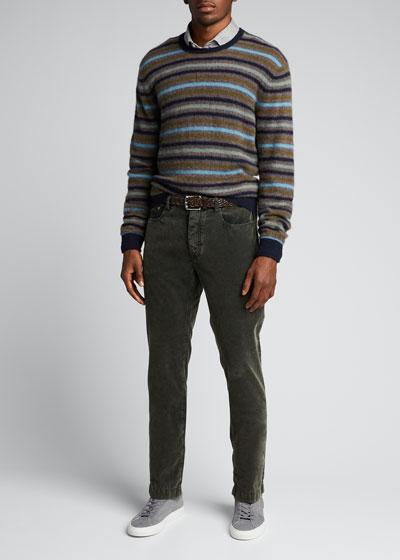 Men's 5-Pocket Corduroy Alunga Pants