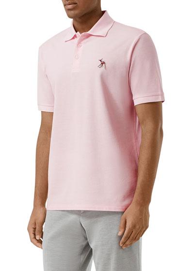 Men's Polo Shirt w/ Fawn Applique