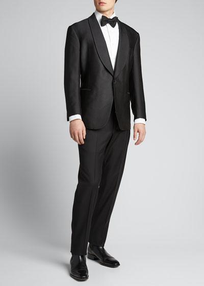 Men's Fancy Silk Dinner Jacket