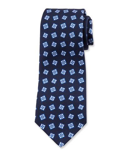 Men's Fancy Boxes Silk Tie